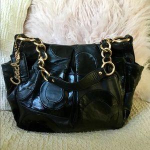 COACH Limited Edition Parker Opt Art Shoulder Bag